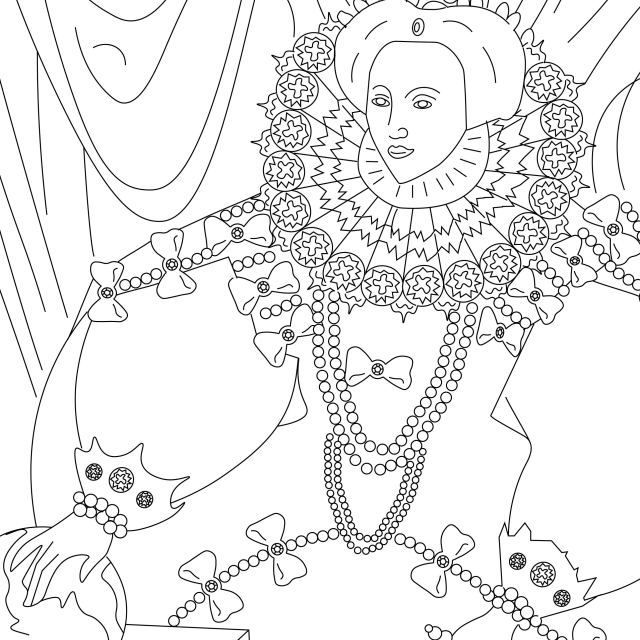 Thanks For Subscribing Renaissance English History Podcast Coloring Pages Free Coloring Pages Famous Art Coloring