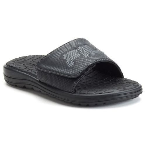 Fila Ziplite HL Men Open Toe Synthetic Slides Sandal 10