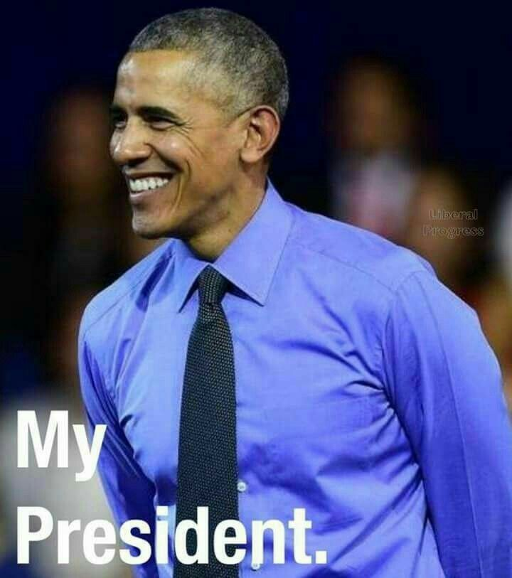 Barack Hussein Obama OUR 44th President. We Miss You Tremendously