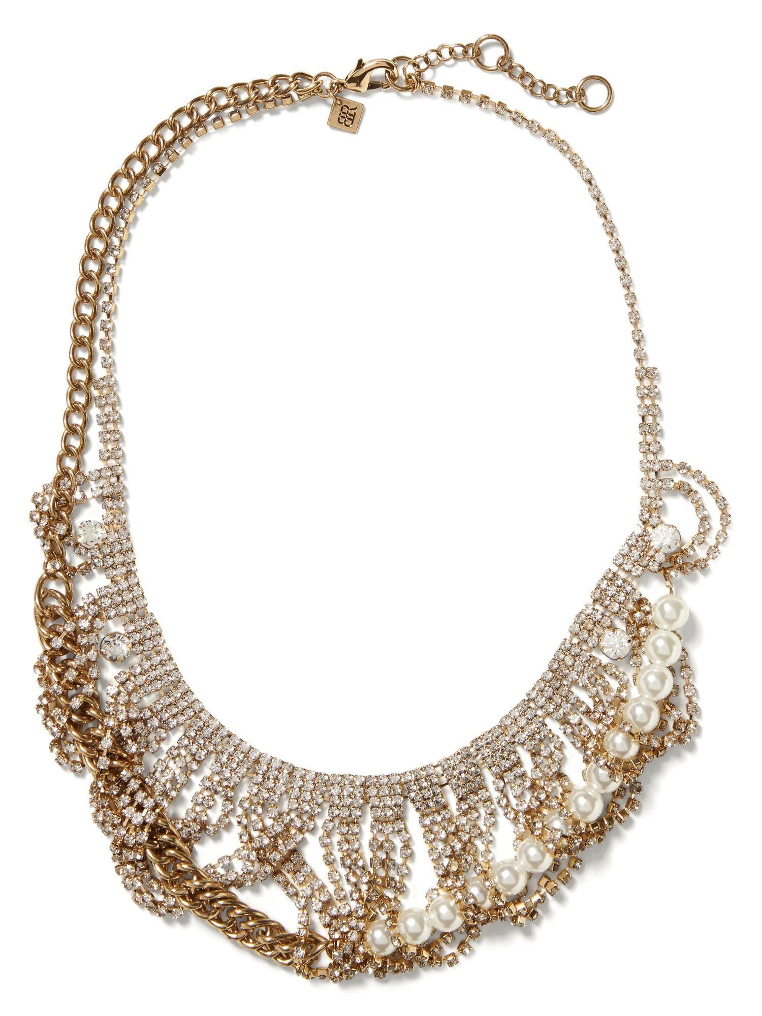 65a42a5eb7a43 Sparkle Swag Necklace | Statement Necklaces under $50 | Jewelry ...