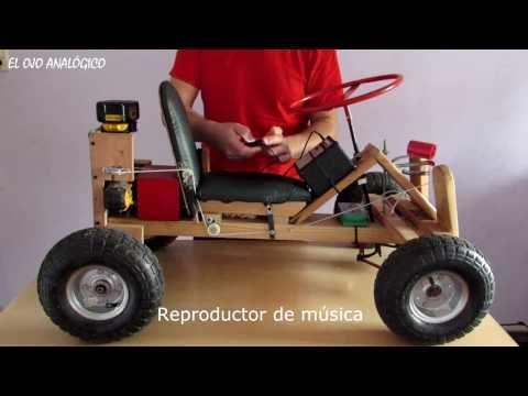 Auto A Baterias Casero Propulsion A Taladro Youtube Proyectos