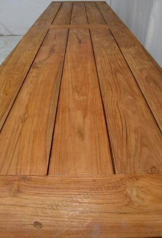 Gartentisch 400 X 100 Teak Wood Hardwood