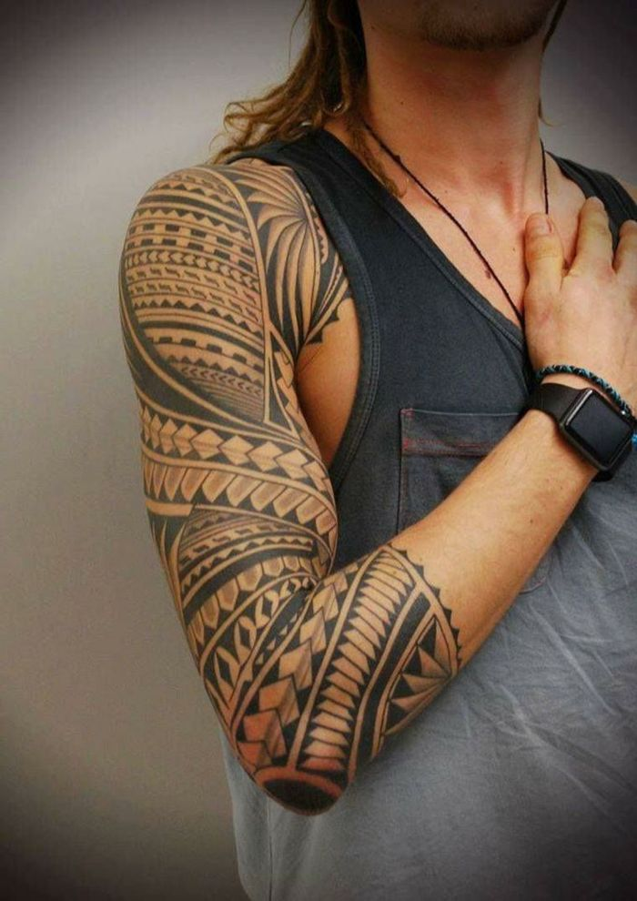 1001 Ideas De Tatuajes Maories Y Su Significado En La Cultura - Significado-tatuaje-maories