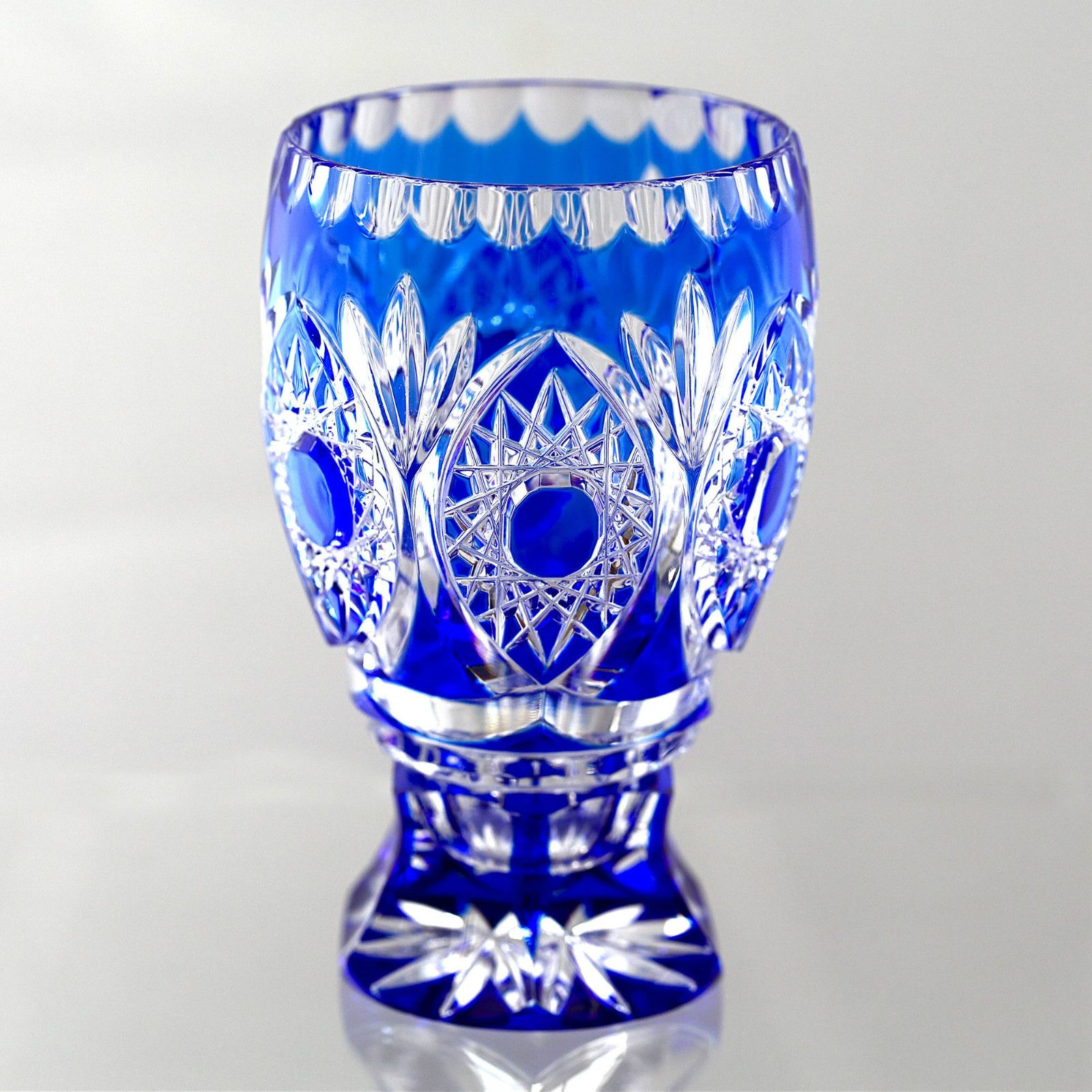 glass saint cristaux fantaisie cobalt vasecobalt bluecut de crystal cut art val vase images pinterest glasscobalt best joseph blue on catalogue lambert simon