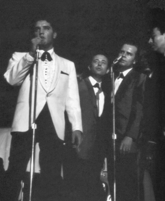 Elvis - February 25, 1961 Memphis, TN - evening appearance Charity Event. Afternoon and evening shows together raised $51,612.
