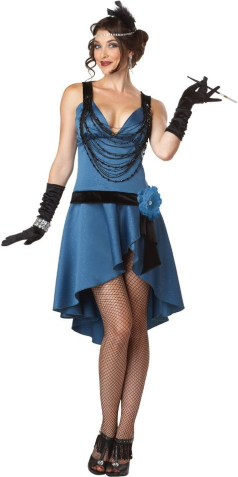 302be343b4 Adult Gatsby Girl Costume - Party City | HALLOWEEEEENS! | 1920s ...