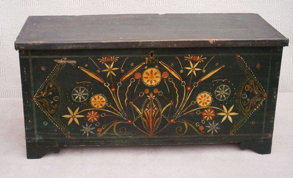 Greek Painted Chest - The Association of Art and Antique Dealers - LAPADA