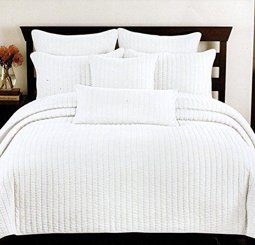 Robot Check White Quilt Bedding Quilt Bedding White Quilt