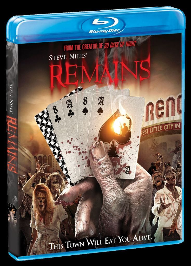 Steve Niles' apocalyptic film Remains comes from Shout