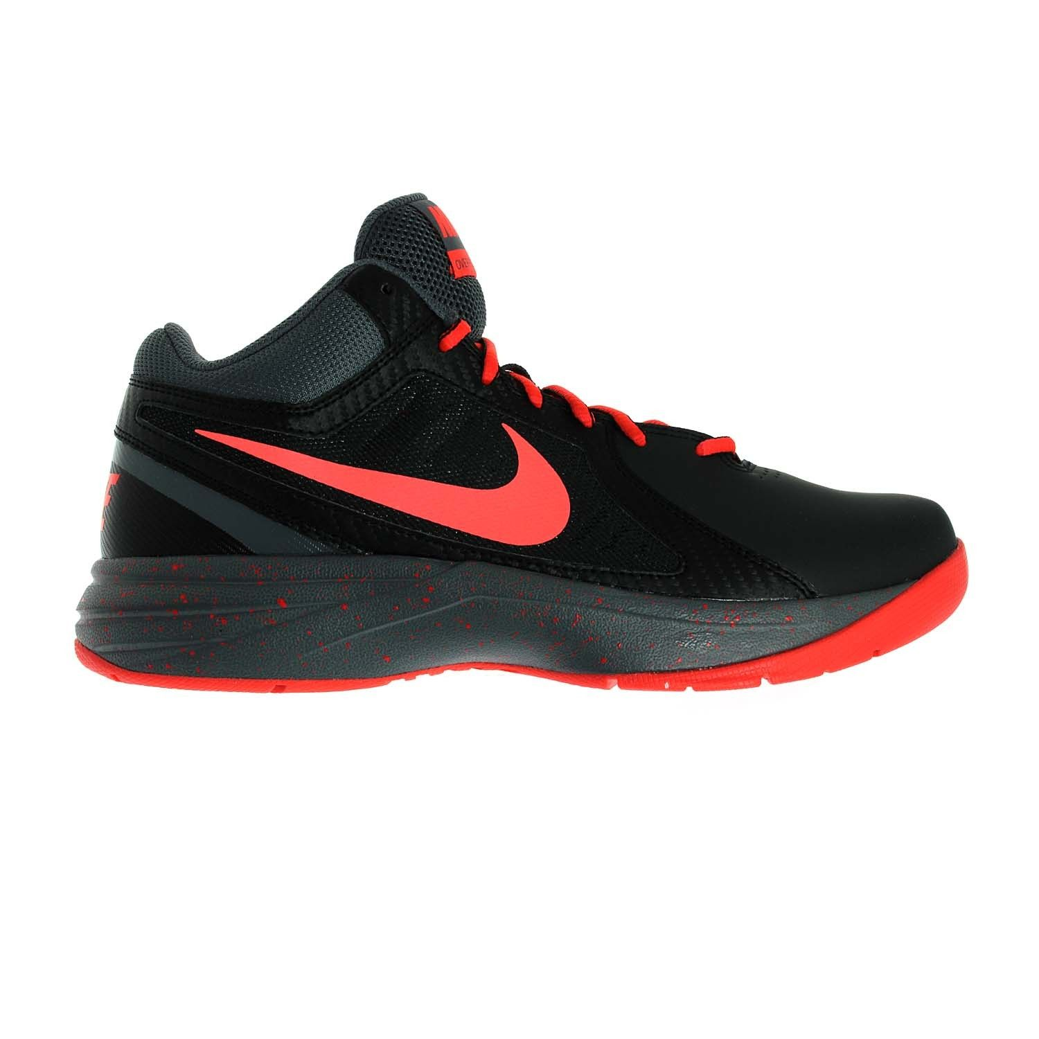 The Nike The Overplay VIII Men's Basketball Shoe is built with a leather  and synthetic upper and a soft, responsive midsole for can't-miss style and  ...