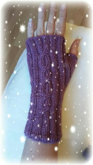 Handstulpen Kostenlose Anleitung Mittens Pinterest Knitting