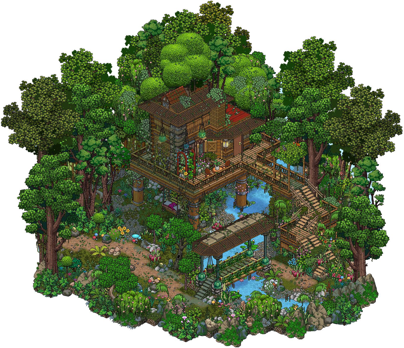 Jungle Treehouse By Cutiezor Cool Minecraft Creations Minecraft