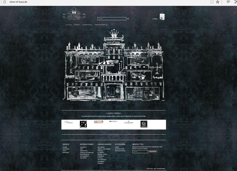 Ein neues Kundenprojekt ist online. www.store-of-luxus.de | Kunden ...