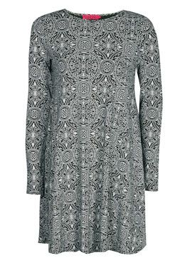 Gabrielle Printed Swing Dress