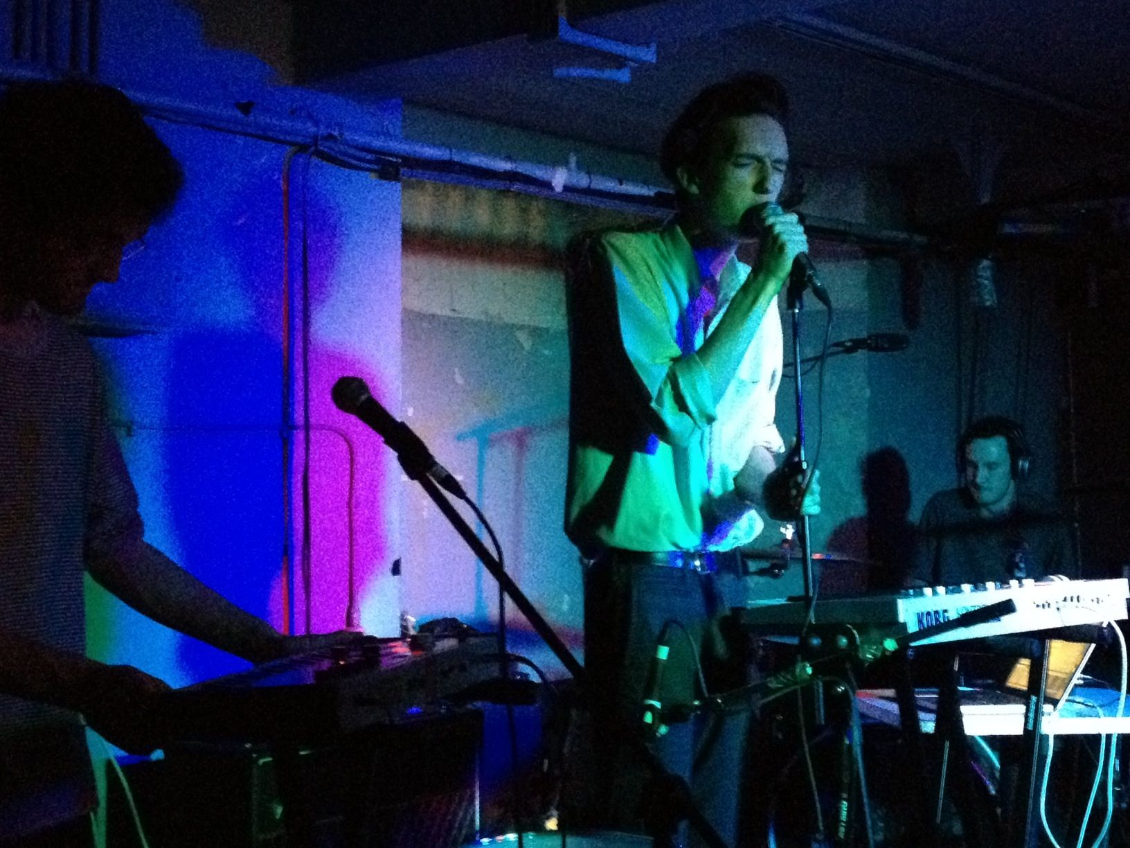 Thanks to everyone who came down last night... Halls live at Camp 24.05.12