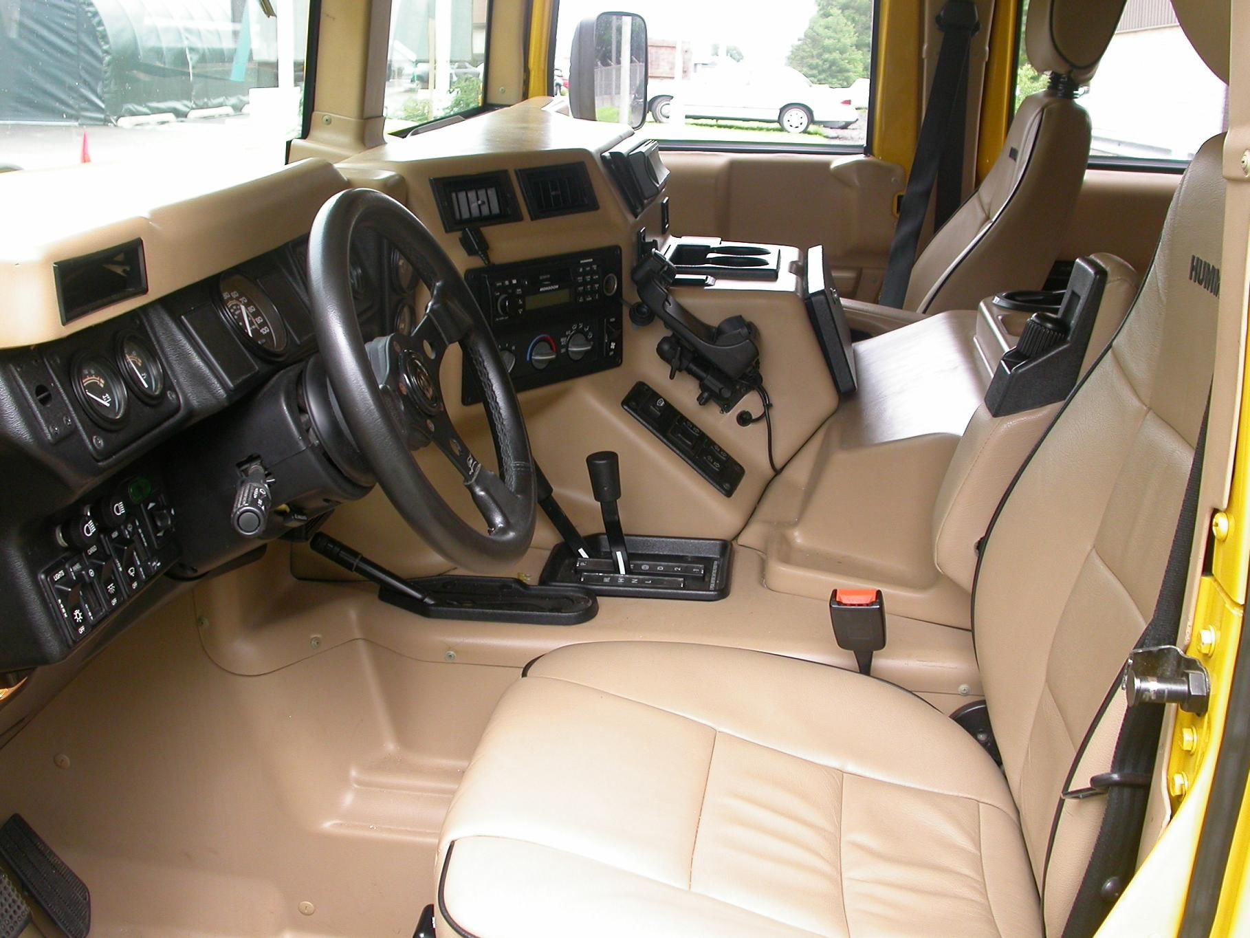 Hummer H1 interior   Cars   Pinterest