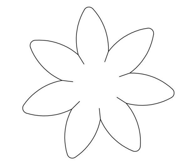 Super flor desenho 5 petalas - Pesquisa Google | riscos | Pinterest  ZY93