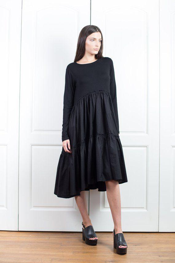 Plus Size Dress Tunic Dress Short Black Dress Dreses For Women