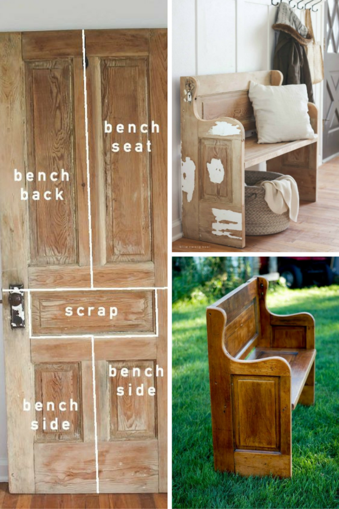 25 Diy Recycled Door And Window Projects : door projects - pezcame.com