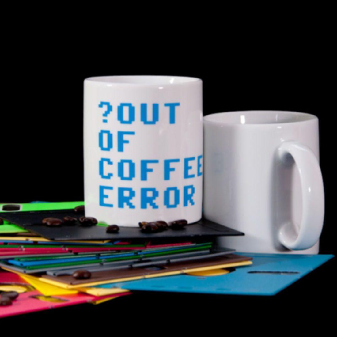 Tasse: out of coffee - 24h Lieferung | getDigital