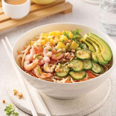 Rouleaux de printemps en bol - Recettes - Cuisine et nutrition - Pratico Pratique