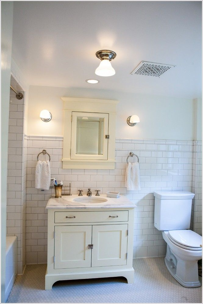 If You Have A Small Bathroom The Frameless Mirrors Cabinets Create A Sense Of Space In S Bathroom Ventilation Bathroom Ventilation Fan Bathroom Vent Fan Light