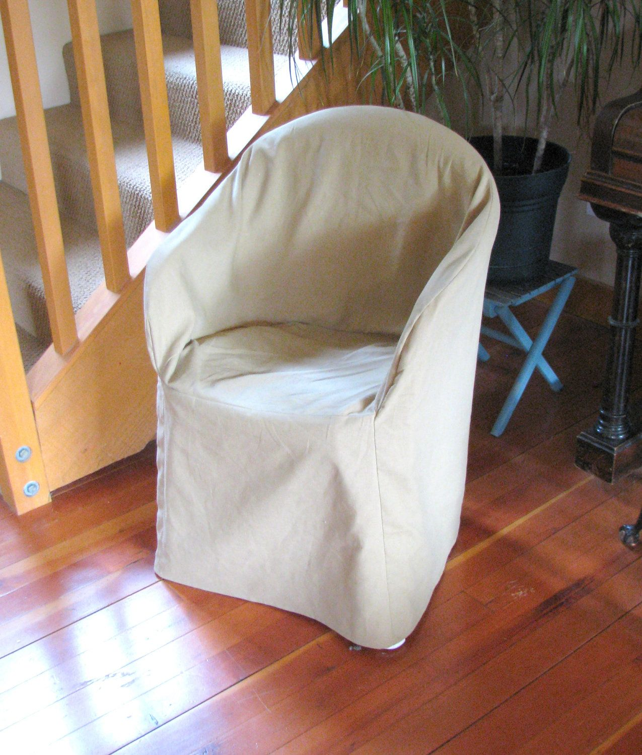 Slipcover Pattern Outdoor Resin Chair Low Back New