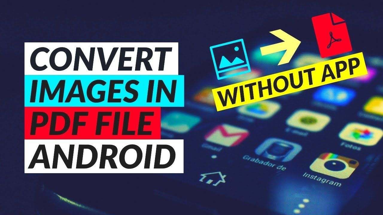 How to convert images into single pdf on android without