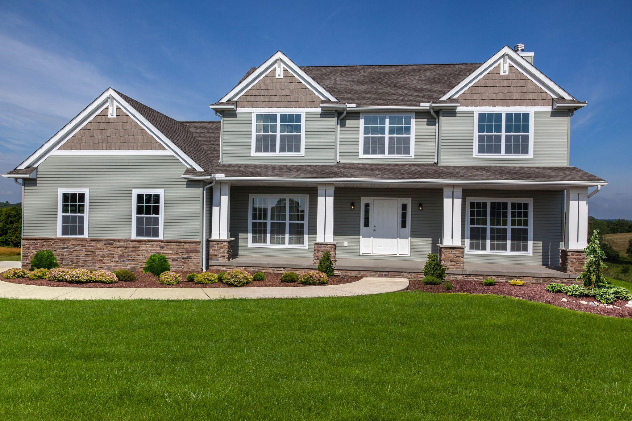 Best Washington Craftsman House Paint Exterior Wayne Homes 400 x 300