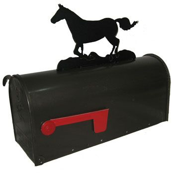 Mustang Mailbox Topper Equestrian Decor Western Home Decor Horse Love