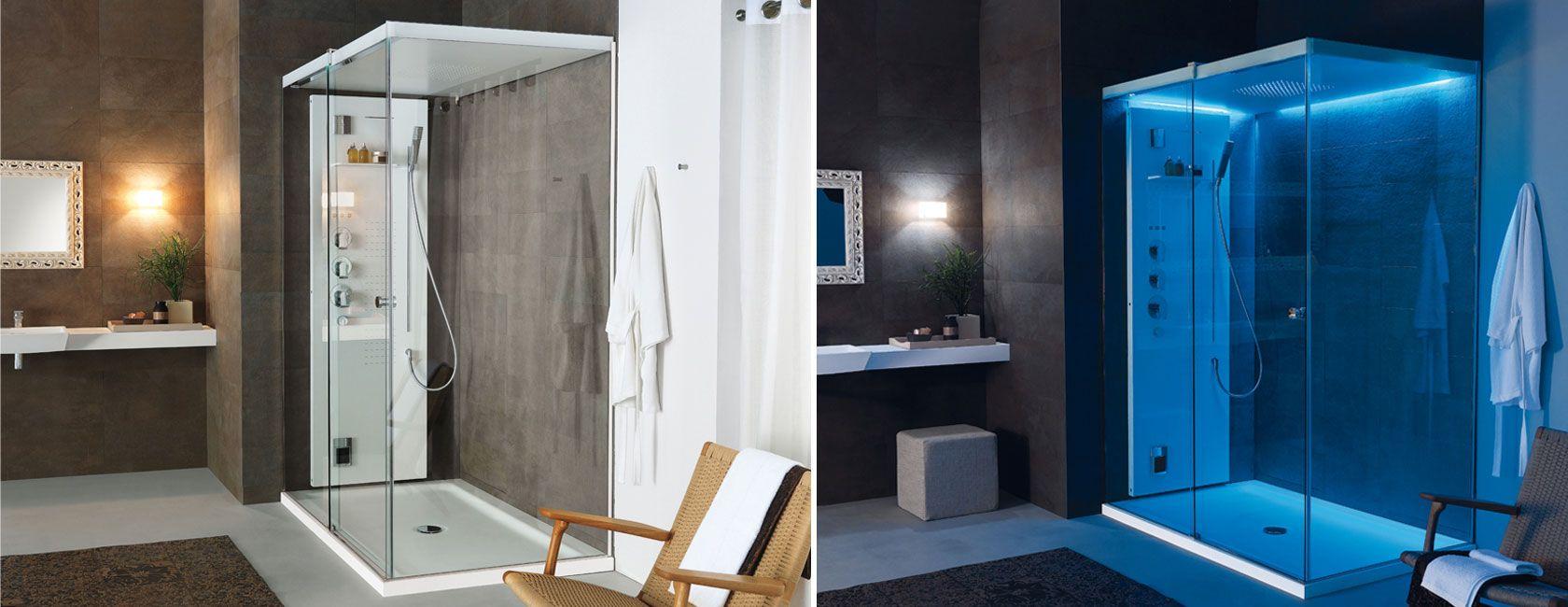 Wohndesign innenraum customisable with centimetreprecision the light shower enclosure