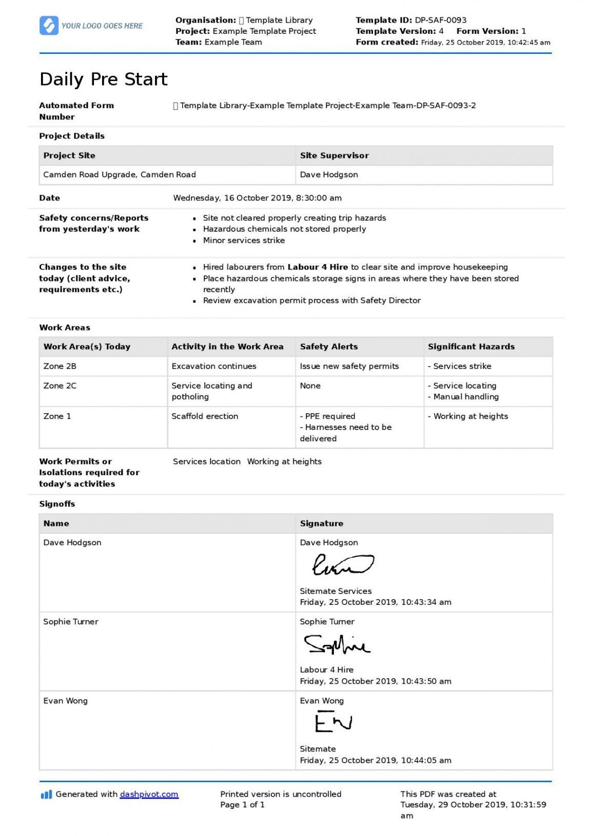 Printable Construction Pre Start Checklist For Any Pre Start Meeting Pre Construction Meeting Agenda Template Meeting Agenda Template Meeting Agenda Construction project meeting minutes template