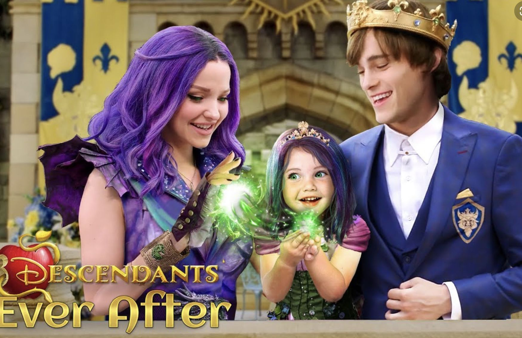 Daughter Of Mal Part 4 Maleficent The Descendants Movie Descendants Characters Disney Channel Descendants