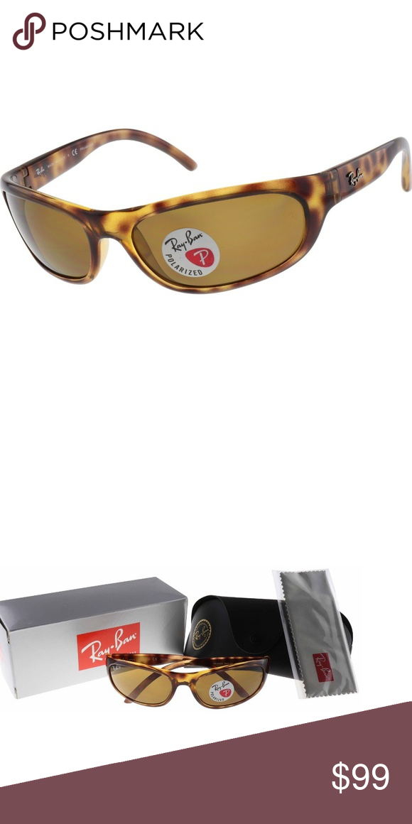 09c0ec706f07c Ray Ban Sunglasses Polarized Unisex Brown NWT