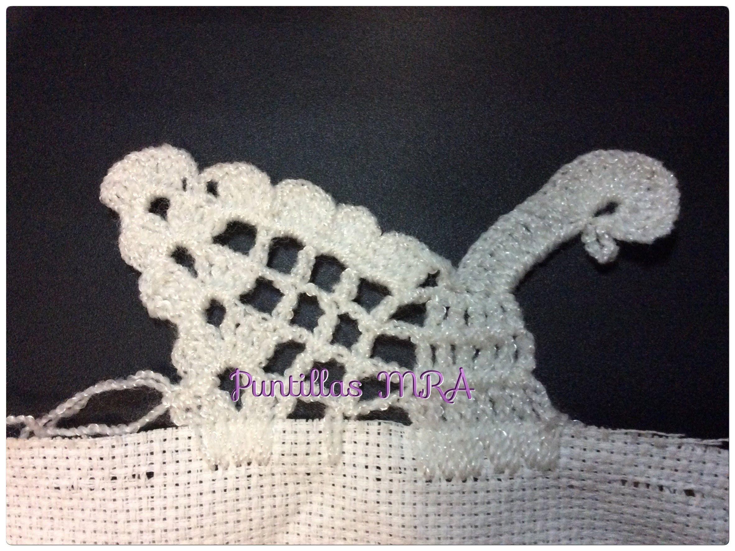 Puntilla para servilleta MRA Rocio Martinez   Moms crochet stuff ...