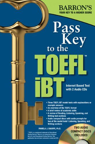 Download Free Pass Key To The Toefl Ibt 8th Edition Barron S Pass