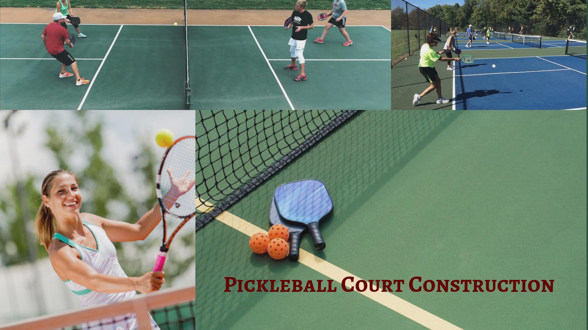 Pickleball Court Explained Pickleball Court Pickleball Tennis Court