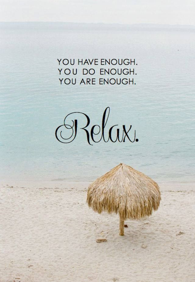 relaxation quotation