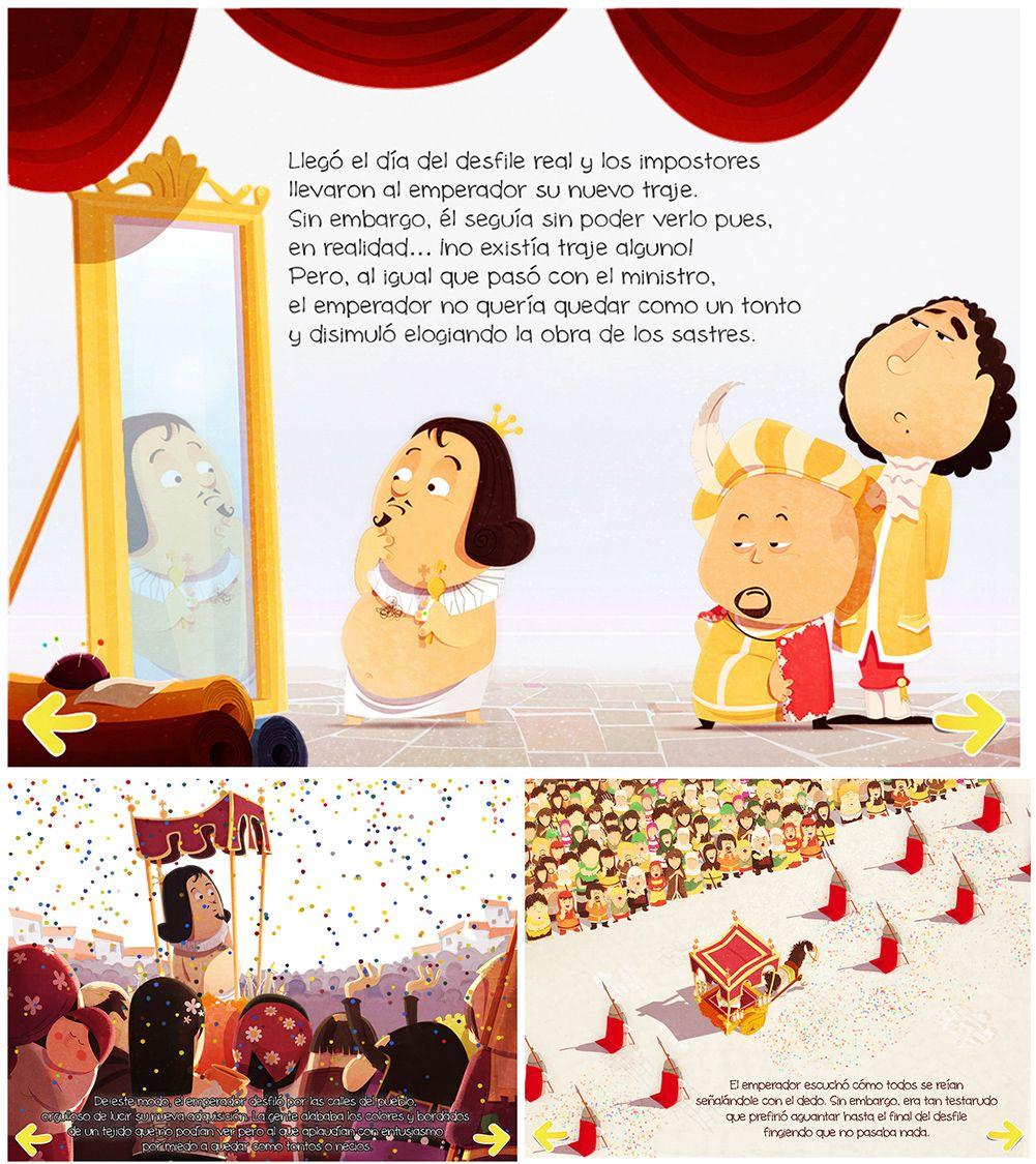 El Traje Nuevo Del Emperador Un Clasico De 18 Paginas Fairy Tales Tales Family Guy