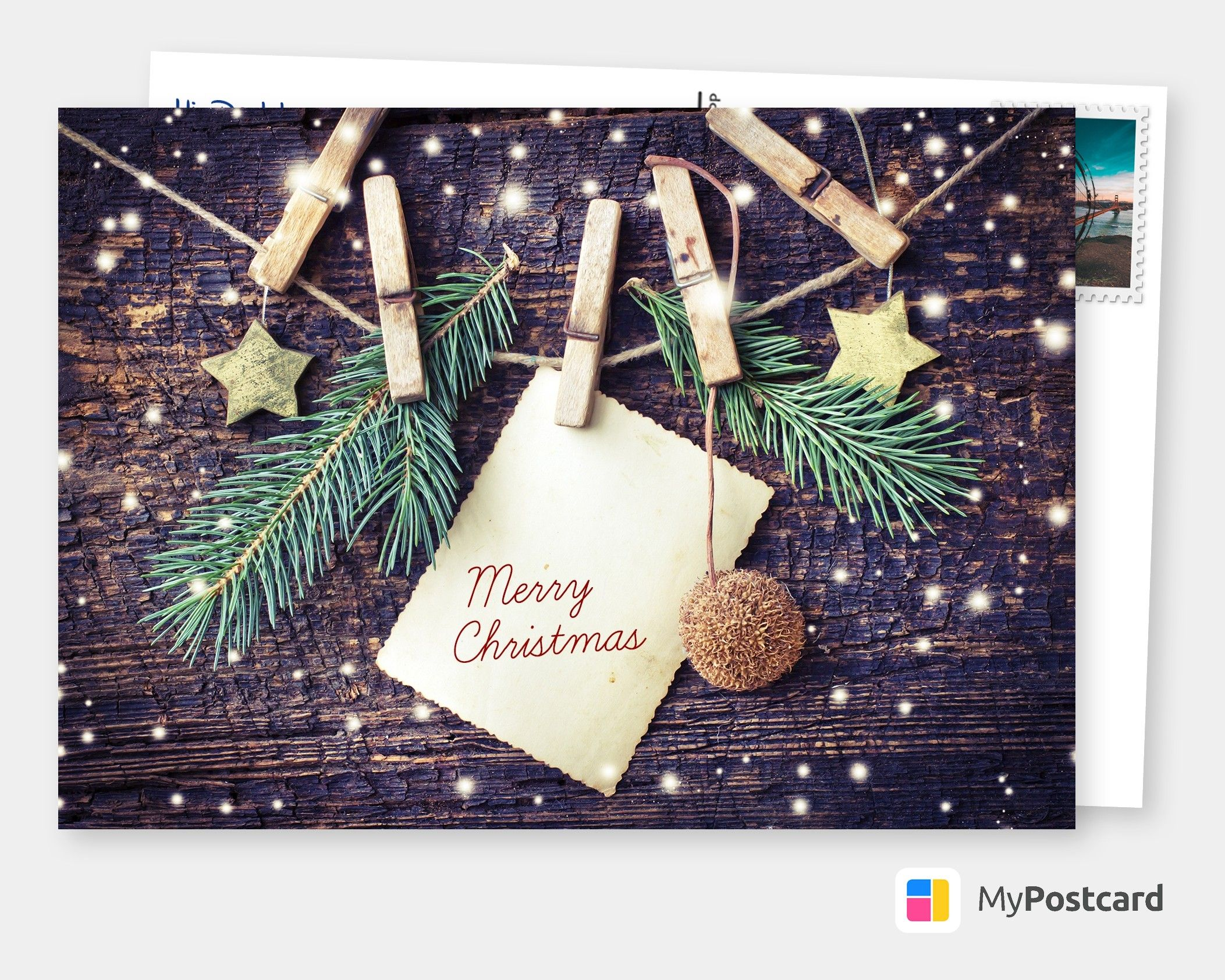 Make Your Own Christmas Cards Online Free Printable Templates Printed Mailed For You Photo Cards Postcards Photo Greeting Cards Online Printed Free Christmas Card Template