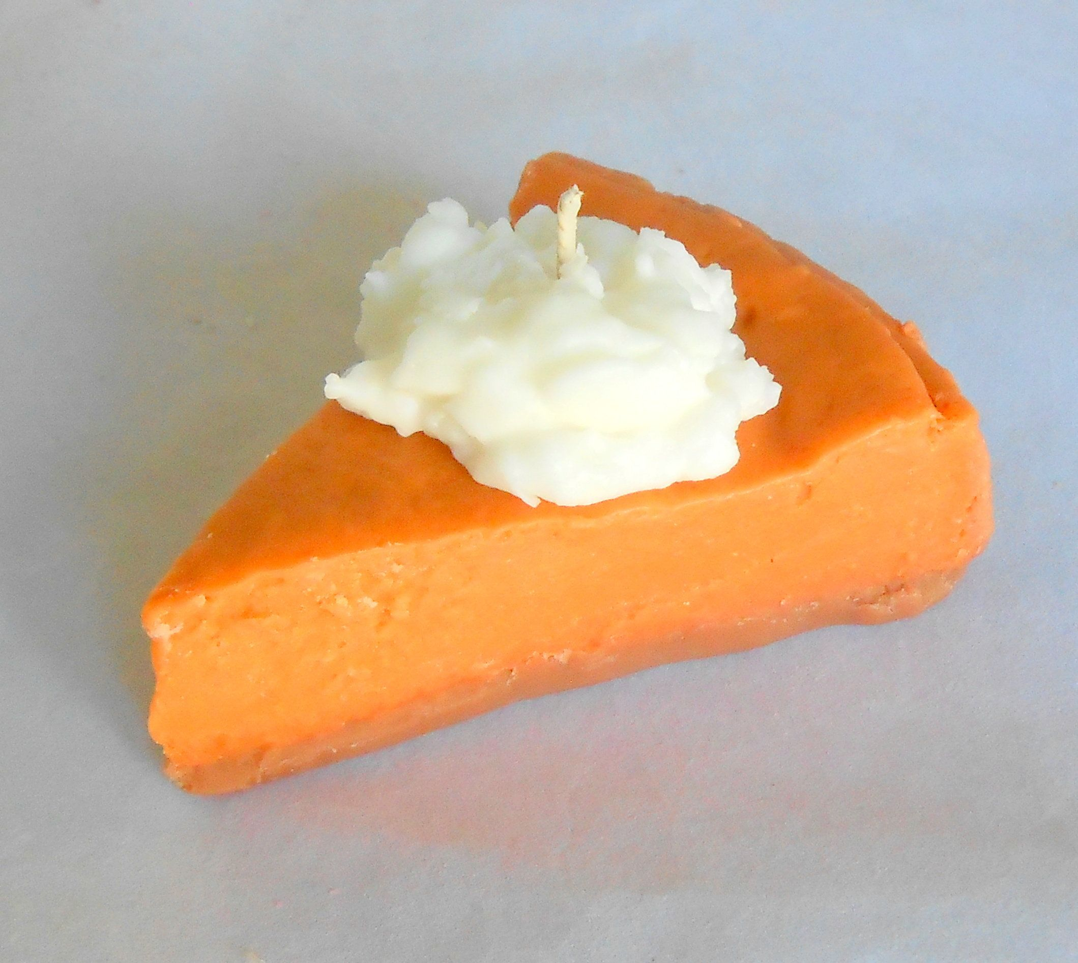 Pumpkin Pie Slice Candle Wax Pie Candle Pumpkin Spice Bakery Etsy Pumpkin Buttercream Pumpkin Pie Dessert Candles