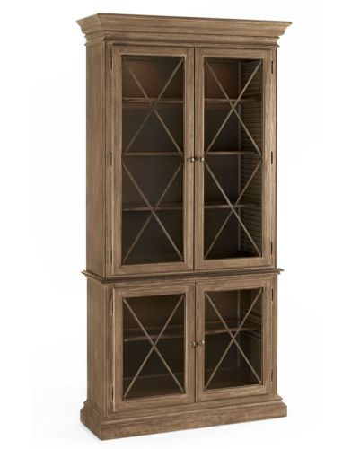 Schnadig Cobblestone Dining 4 Door China Cabinet