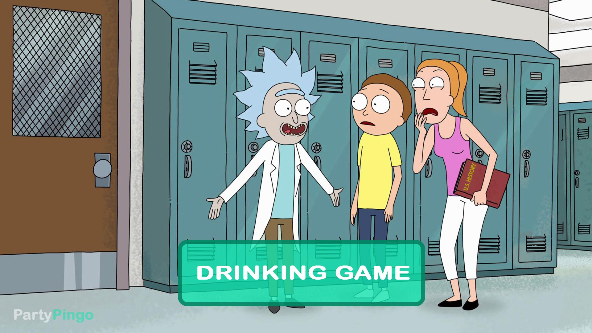 Rick And Morty Big Trouble In Little Sanchez Drinking Game Season 2 Episode 7 Drinking Games Rick And Morty Rick And Morty Season