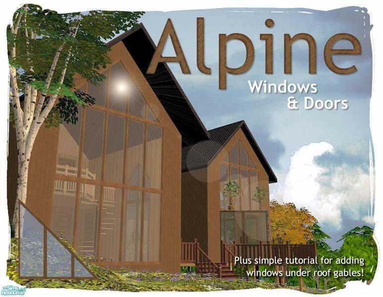 Alpine doors and windows - I nver remember how to do this! & Cyclonesueu0027s Alpine Windows | BUILD | Pinterest | Window Sims and ... pezcame.com
