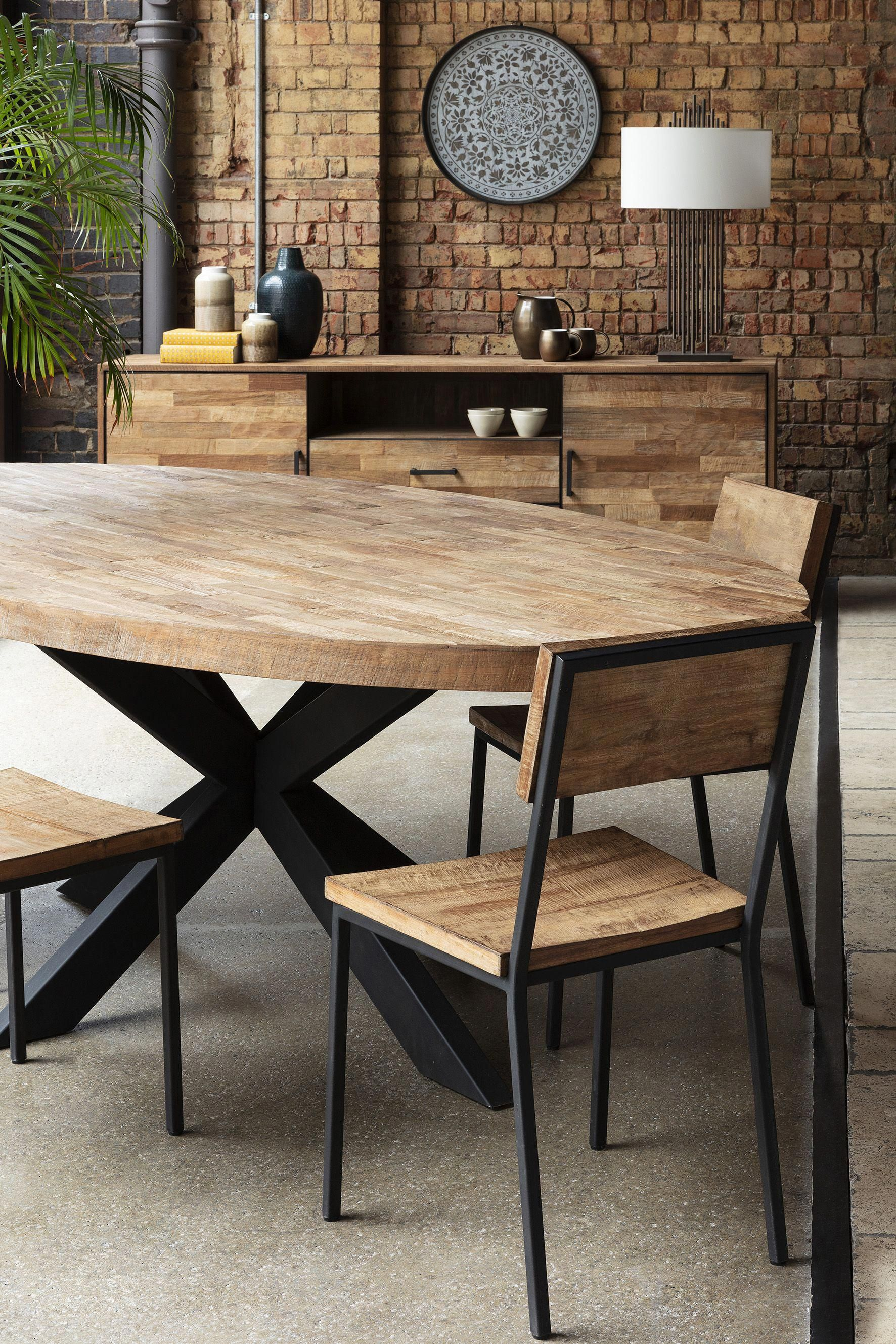 Baxter Bond Oval Dining Table Combining Elements Of Nature With