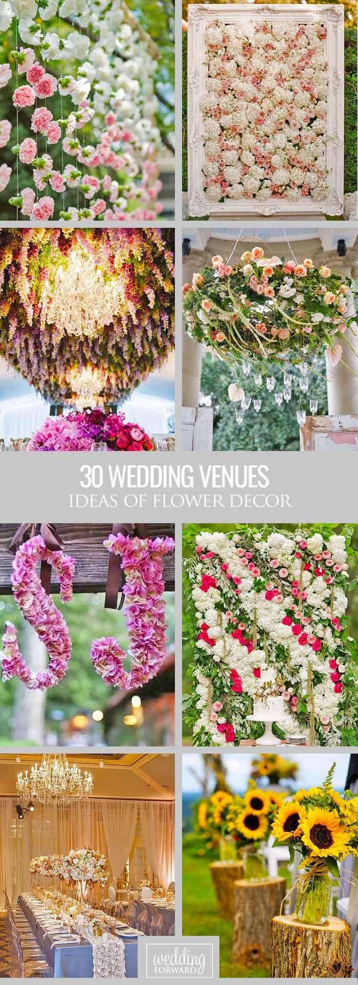 Wedding venue decoration images   Ideas For Decorating Your Wedding Venue With Flowers  Flower