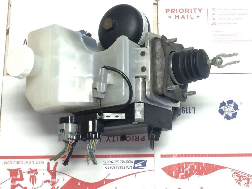 01 02 Mitsubishi Montero Brake Pump Assembly Mr407202 Abs Booster Module Oem Mitsubishioemmontero Mitsubishi Abs Oem