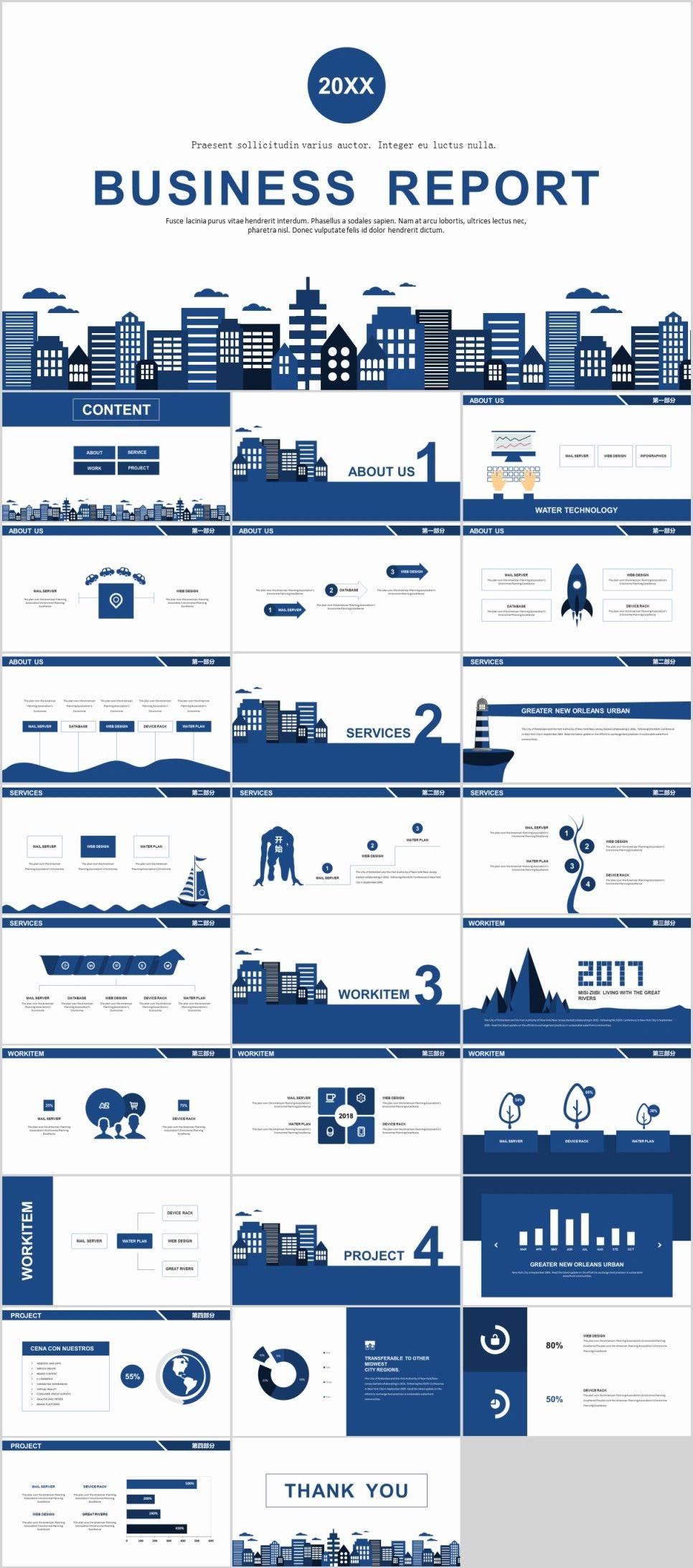 27 blue simple business report powerpoint templates apresentao 27 blue simple business report powerpoint templates powerpoint templates presentation animation toneelgroepblik Choice Image