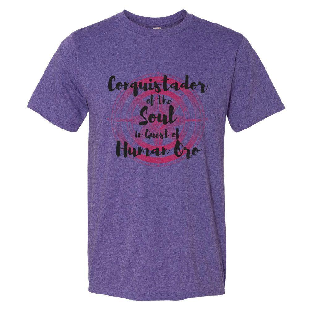 Red Compass, Conquistador of the Soul- Short sleeve t-shirt