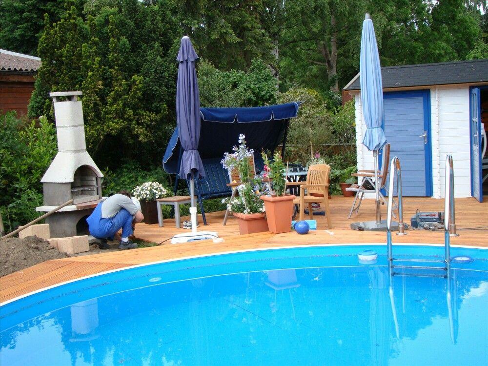 Swimming Pool Umrandung pool aufbau umrandung usw poolumrandung
